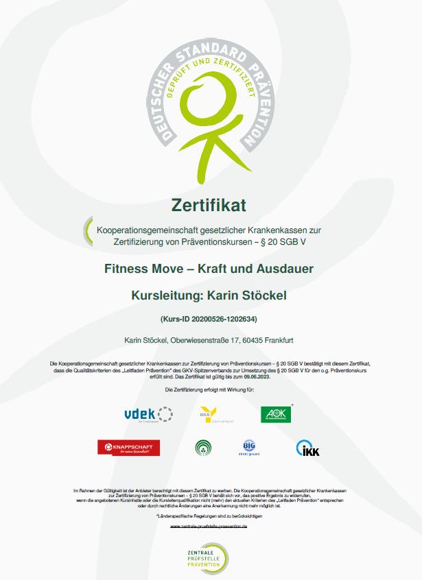 Präventionskurse Frankfurt